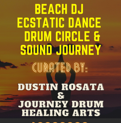 Castle Island Beach Ecstatic Dance & Drum Circle