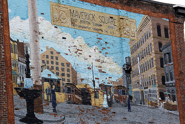 East Boston: Maverick Square & Beyond Walking Tour
