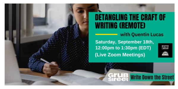 WDtS: Detangling the Craft of Writing
