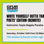Young Adult Writers Program (YAWP): Write Yourself...