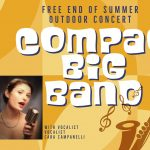 19-Piece Compaq Big Band with Vocalist Cara Campanelli at FREE End-of-Summer Concert