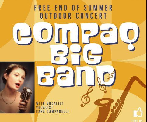 19-Piece Compaq Big Band with Vocalist Cara Campan...