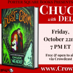 Virtual: Chuck Wendig with Delilah S. Dawson, Dust...