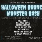 Boston's Halloween Brunch Monster Bash