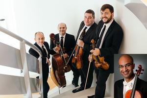 Amernet String Quartet with Vivek Kamath