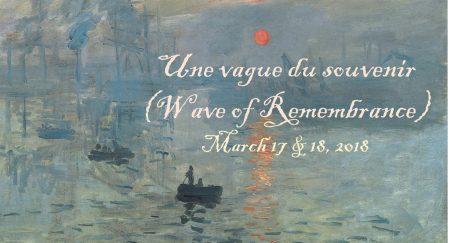Une vague du Souvenir (Wave of Remembrance)