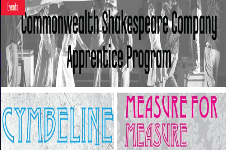 CSC Apprentice Showcase: Cymbeline & Measure for Measure