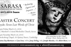 Easter Concert: Haydn's Seven Last Words of Christ (Cambridge)