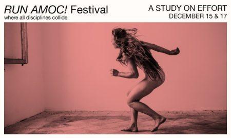 Run AMOC! Festival: A Study on Effort