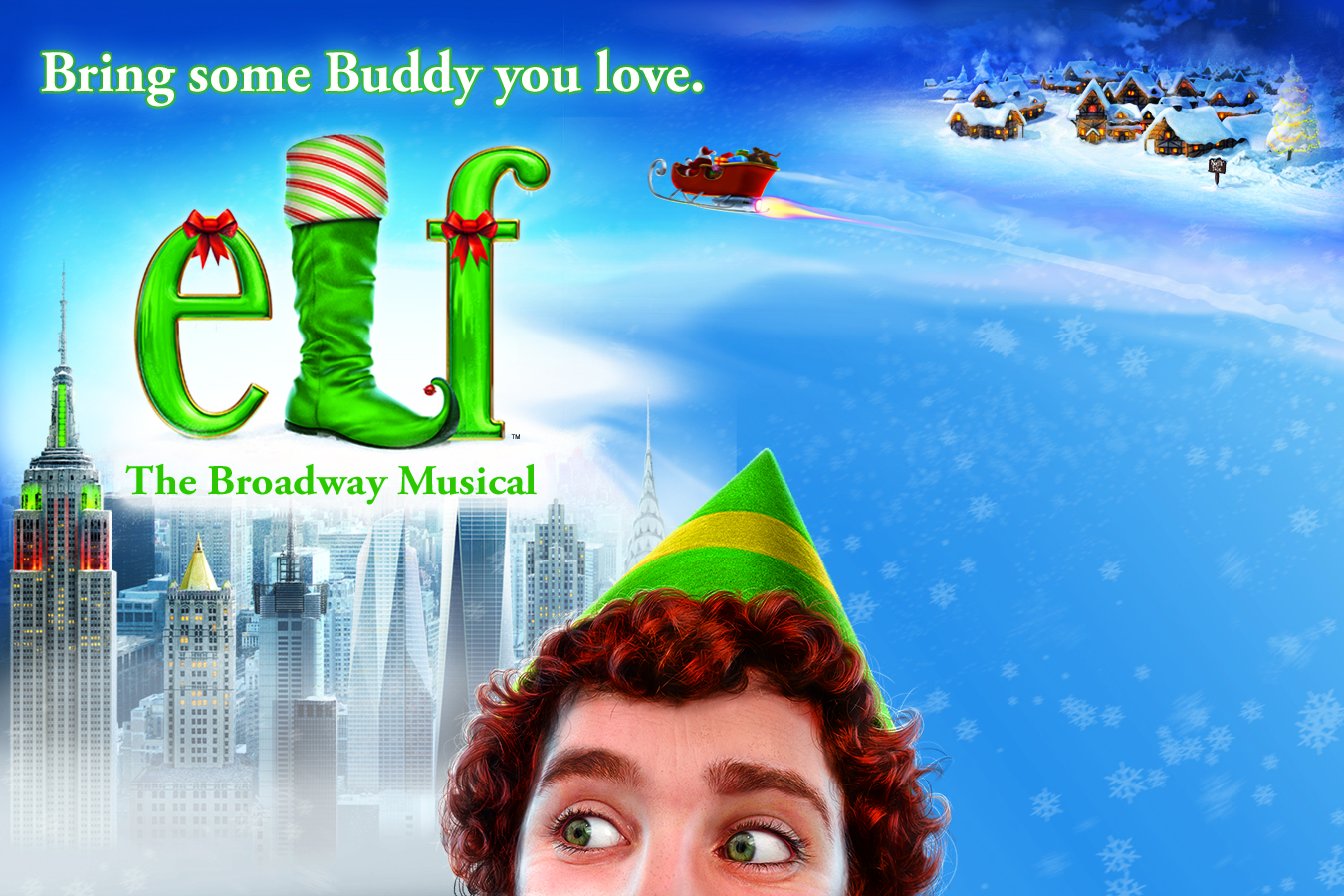 Art Calendar Boston : Elf the musical presented by boch center artsboston calendar