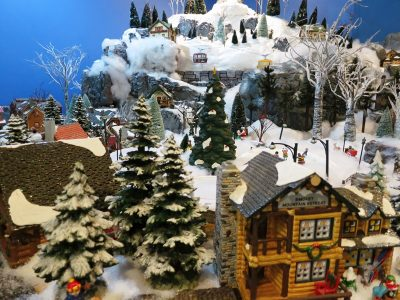 Massachusetts Horticultural Society's Festival of Trees and Snow Village