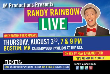 Randy Rainbow Live in Boston