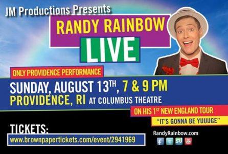 Randy Rainbow Live in Providence, RI