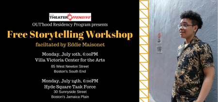 STORYTELLING WORKSHOP FOR QUEER & TRANS PEOPLE OF COLOR