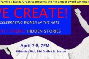 We Create! Celebrating Women in the Arts