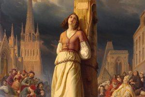 Jeanne d'Arc au bûcher