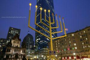 The Boston Menorah Lighting 2016