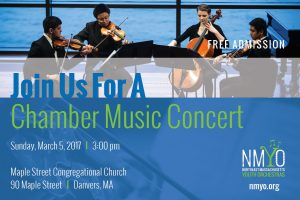 A Chamber Music Concert - Northeast Massachusetts Youth Orchestras