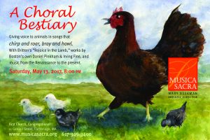 A Choral Bestiary