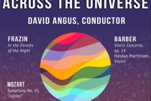 Across the Universe: Frazin, Barber, Mozart