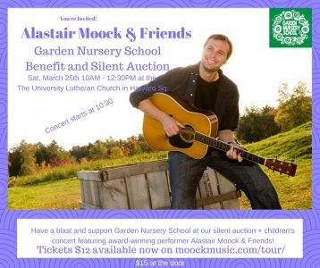 Alastair Moock and Cambridge Children's Chorus in Concert