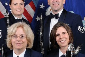 American Air Force Clarinet Quartet