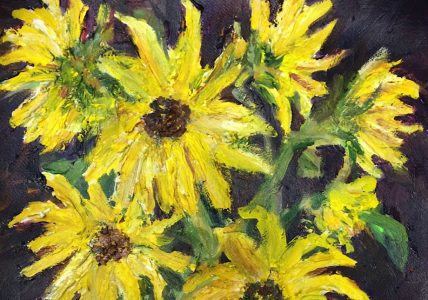 "Art Exhibit - Sue Wheeler Paintings: ""A Little of ..."
