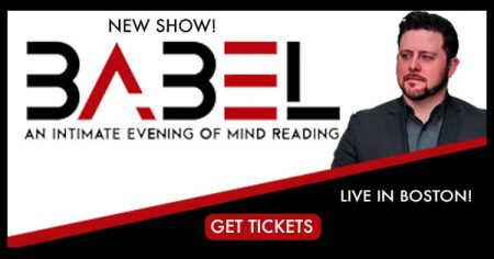 BABEL: An Intimate Evening of Mind Reading with Christopher Grace