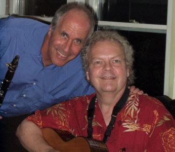 Billy Novick & Guy Van Duser perform at the Charlestown Branch Library, in a musical tribute