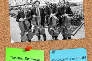 Boston Cello Chamber Quartet Concert