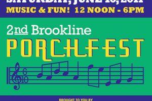 Brookline Porchfest 2017