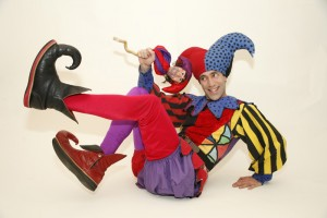 "Celebrate! with Alex the Jester's ""Costumes and Comedy"""
