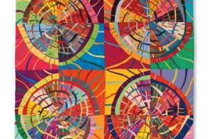 Circular Abstractions: Bulls-Eye Quilts