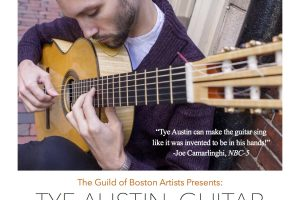 Classical Guitarist Tye Austin Concert at The Guild of Boston Artists