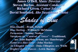 """Concord Band Winter Concert """"Shades of Blue"""""""