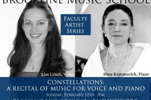 Constellations: A Recital of Music for Voice and Piano