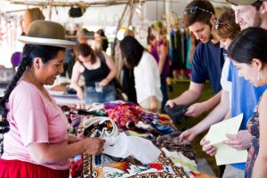 Cultural Survival Bazaar in Plymouth, MA