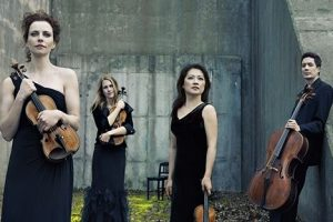 Daedalus Quartet with Edwin Barker, bass and Elizabeth Fischborn, soprano