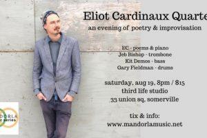 Eliot Cardinaux Quartet: poetry & improvisation