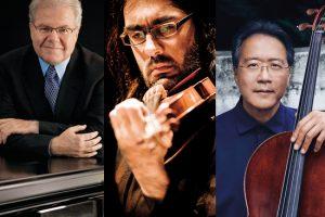 Emanuel Ax, piano, Leonidas Kavakos, violin, Yo-Yo Ma, cello