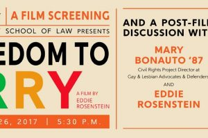 Film Screening: The Freedom to Marry
