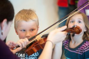 Free Family Concert and Instrument Petting Zoo