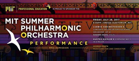 Free MIT Summer Philharmonic Orchestra Concert