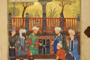 Gallery Talk: Materials and Techniques of Persian Paintings from Villa I Tatti