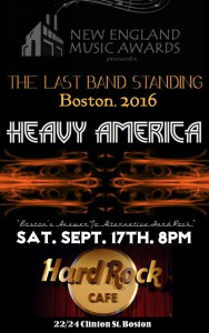 Heavy AmericA LIVE at Hard Rock Cafe, Boston