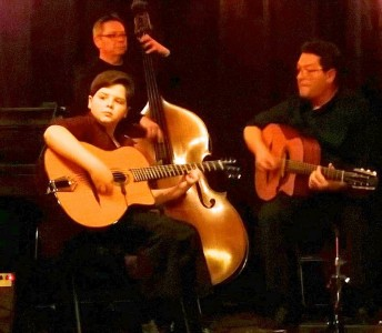 Henry Acker Gypsy Jazz Trio at Post Office Square