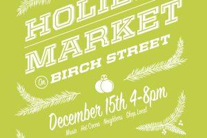 Holiday Market in Roslindale