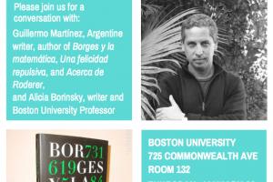 In Conversation: Guillermo Martínez and Alicia Borinsky