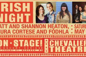 Irish Music Night featuring Matt and Shannon Heaton, Laura Cortese and Fodhla