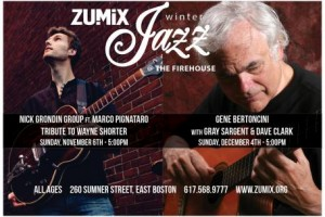 Jazz At The Firehouse Presents: Nick Grondin Group Feat. Marco Pignataro